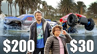 $30 Car vs $200 Car - Driving Across Water