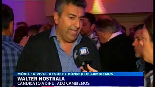 Walter Nostrala, expectante por la sexta banca de Cambiemos en Córdoba