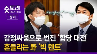 [숏토리:정치] 감정싸움으로 번진 '합당 대전'...흔…