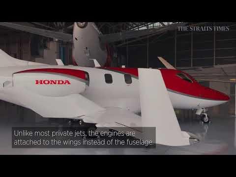 Honda's $6.65m private jet