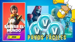 The Best Way to Get FREE PAVOS in Fortnite/Season 10 Save The World Free