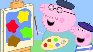 Peppa Pig Official Channel ❤️💛💙 Learn Colours with Peppa Pig