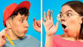 FUNNIEST HOME PRANKS! 12 Simple DIY Pranks On Friends And Family
