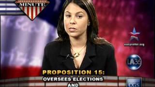Proposition 15 - California Fair Elections Act