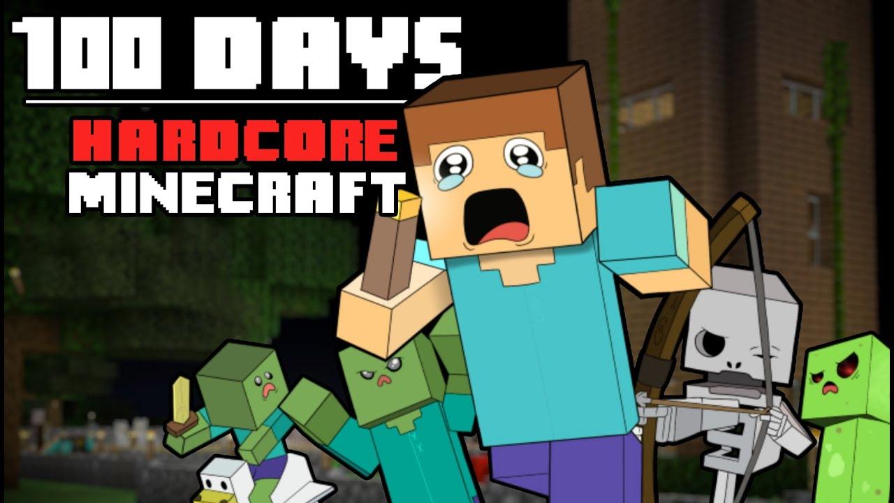 Download 100 Days - [Hardcore Minecraft]