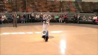 Native Dance with Nakotah LaRance - Hoop Dance 1