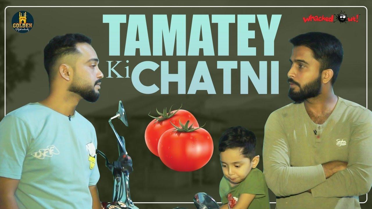 Tamatey ki Chatni | Importance Of Food Video | Best Messge Video | Abdul Razzak | Golden Hyderabadiz
