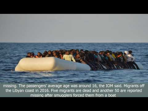 More migrants 'deliberately drowned'