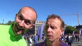 Trondheim maraton 2017 - Team Adonai style
