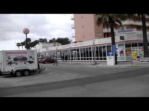 Resort Centre and shops, Sa Coma, Mallorca