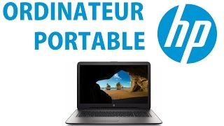 Déballage ordinateur portable HP !
