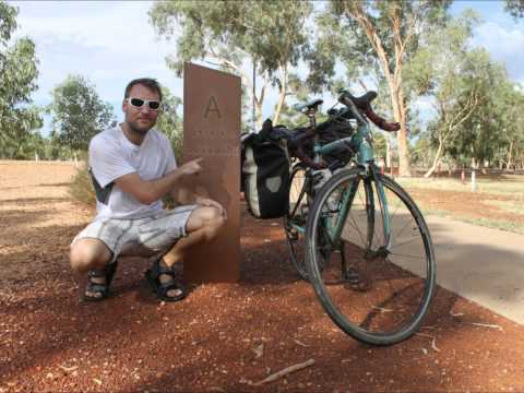 Cycling Around The World - Across Australia and New Zealand