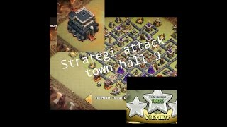 clash of clans Strategi Attack Town Hall 9 2016 (COC)#Nyx_1