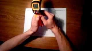 Видео обзор инфракрасного пирометра benetech GM900 от supereyes.ru