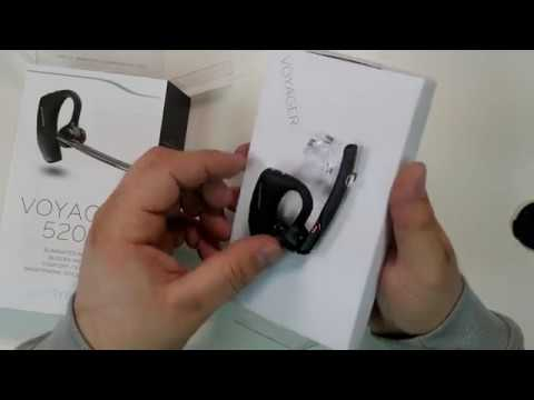 Plantronics Voyager 5200 5220 Review Bluetooth Wireless Phone Headset Youtube