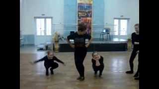 Театр-танца Зеркало Брест - рук.Козлова А.В. (урок)