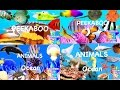 Learn Sea Animals + Water Animals Names and Sounds - Cartoon & Real Ocean Video For Kids & Children