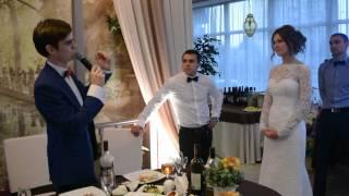 признание в любви на Свадьбе 16 08 2015  ресторан Островок Счастья
