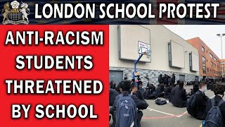 Anti-Racism School Protestors Threatened With Expulsion