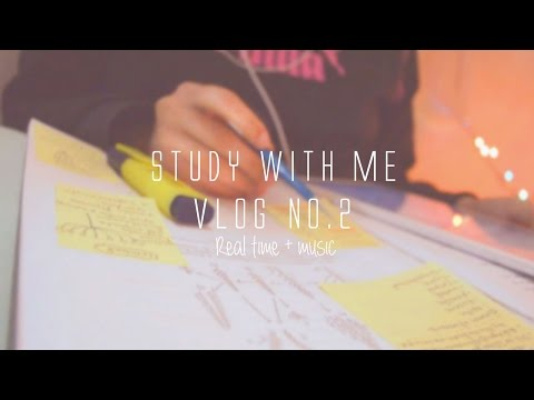 Study With Me Real Time  Vlog + Relaxing Music [Pharmacy student] | REEM