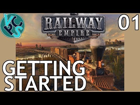 Railway Empire EP01 - Getting Started – Upcoming Railroad Tycoon Gameplay