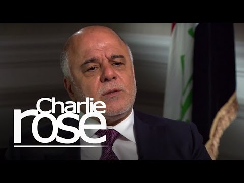 Iraqi PM Abadi on Iraq and Iran (Apr. 17, 2015) | Charlie Rose