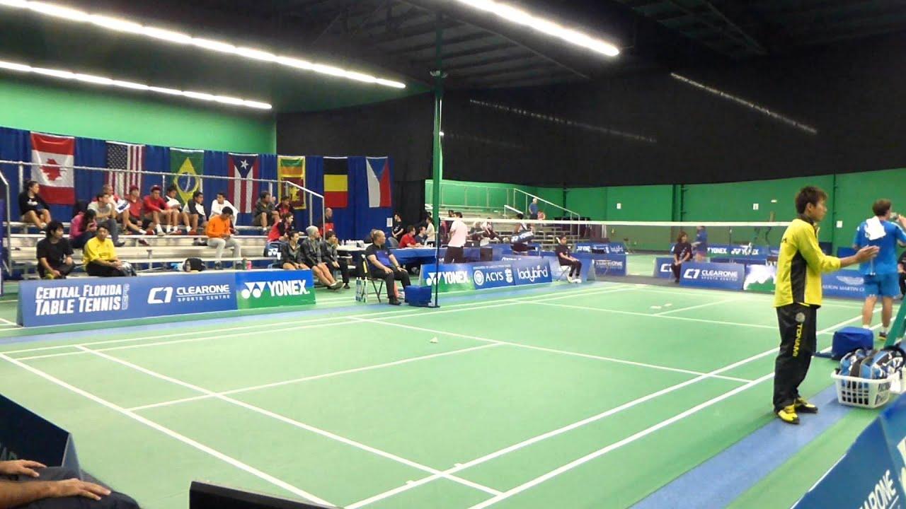 Quarterfinal MS G2 Bjorn Seguin USA vs Yugo Kobayashi JAP 2013