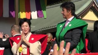 NHK 大河ドラマ真田丸に出演している方々が来ていました♪ 高畑さん、本...