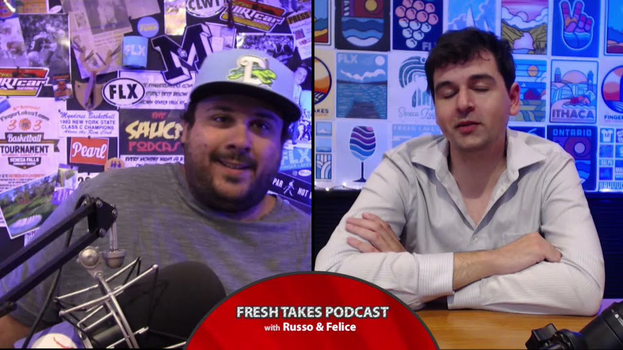 FRESH TAKES w/ RUSSO & FELICE: NASCAR at the Glen (podcast)