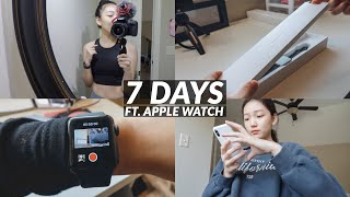 A Week in My Life as a High School SENIOR. (ft. Apple Watch) thumbnail