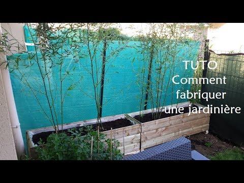 Fabriquer Une Jardiniere La Boite A Astuces Youtube