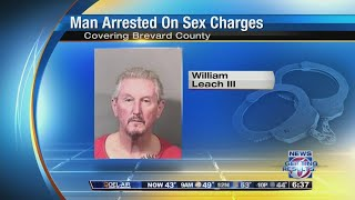 Man, 72, arrested on sex charges