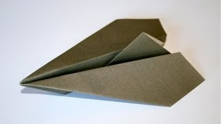 Origami - Aéroplane Traditionnel