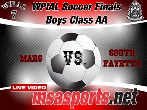 2015 WPIAL Soccer Finals:  Boys Class AA: Mars vs. South Fayette