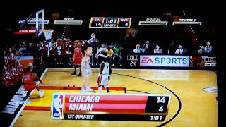 NBA JAM (XBOX 360) Big Head Mode ON - Gameplay