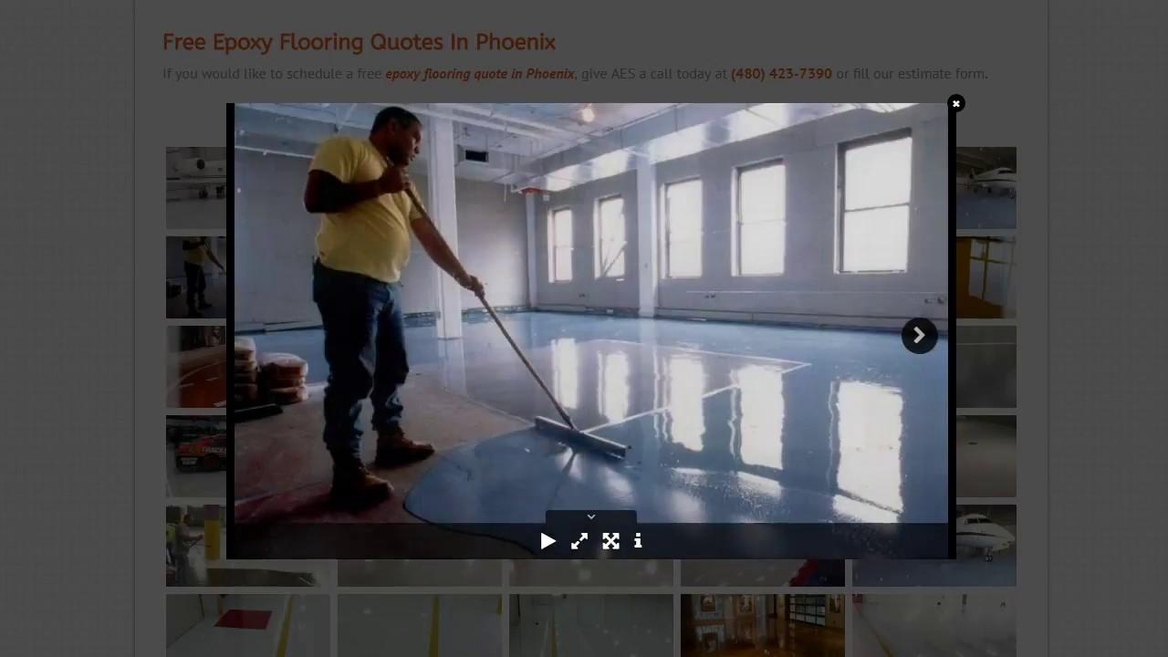 Epoxy Flooring Phoenix U0026 Tempe | Installation   Arizona Epoxy Systems
