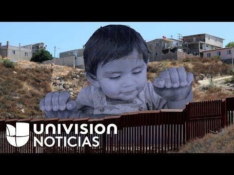 'Quiquito', el niño que observa a EEUU desde la valla fronteriza que lo separa de México