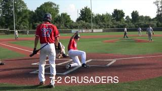 Crusaders Baseball Club 16U vs Sportika Gallagher Elite at Diamond Nation 16U Blue Chip