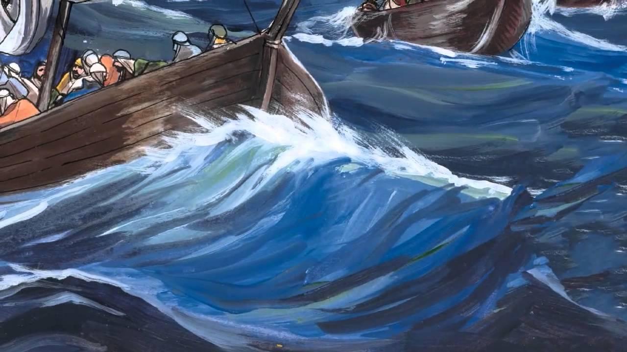 должна картинка иисус успокаивает бурю целый датчике