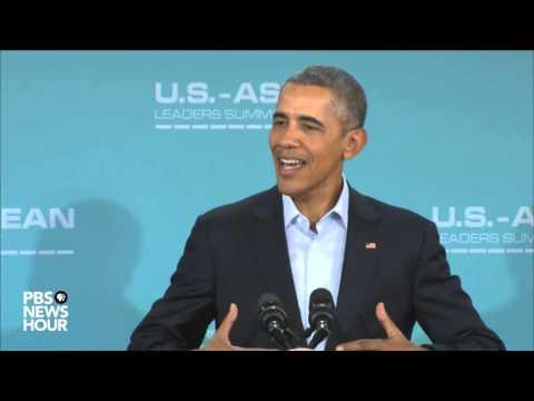 President Obama addresses ASEAN summit, Supreme Court nomination