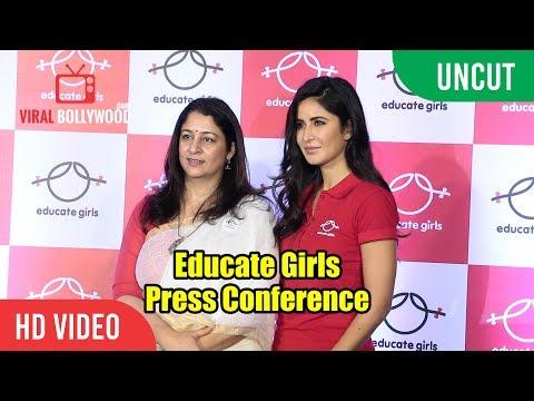 UNCUT - Educate Girls NGO's Press COnference | Katrina Kaif