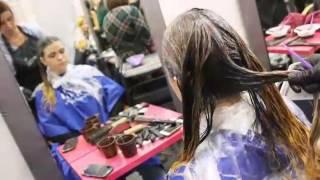 Мастер по парикмахерскому искусству Лемская Эвелина на курсе Калакуцкой Надежды.