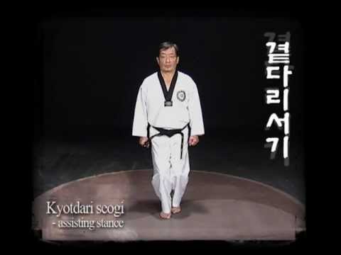 Taekwondo WTF - Basic motions 1, Kukkiwon.Vol_1.