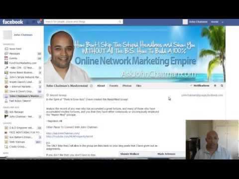 Create and Market To Facebook Groups