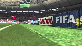 FIFA 14 fell through the stadium.