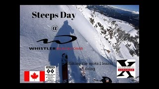 Using my EXTREMELY CANADIAN STEEPS skills at WHISTLER in 4K
