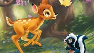 Олененок БЭМБИ. Мультфильмы про животных для детей