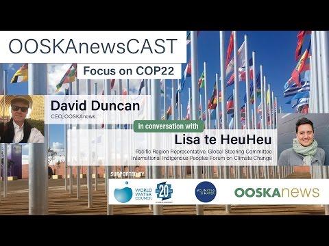 Water Focus with OOSKAnews: Lisa te HeuHeu