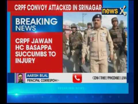 Jammu and Kashmir: 1 jawan killed, 7 others injured after CRPF convoy attacked in Srinagar