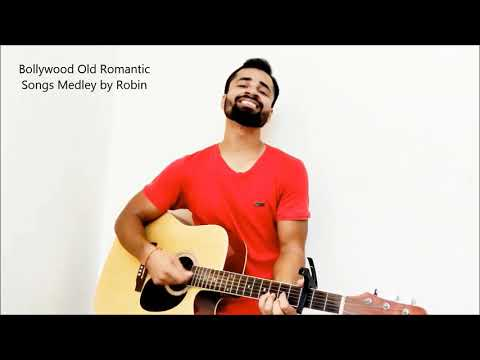 Bollywood Old Classics Medley on Guitar   Raw Cover   Robin Singh